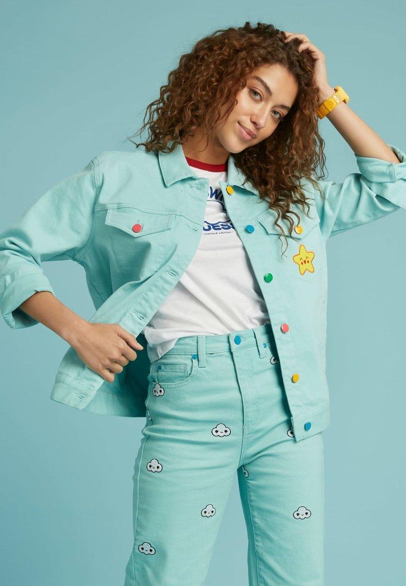 Guess - Denim jacket - himmelblau