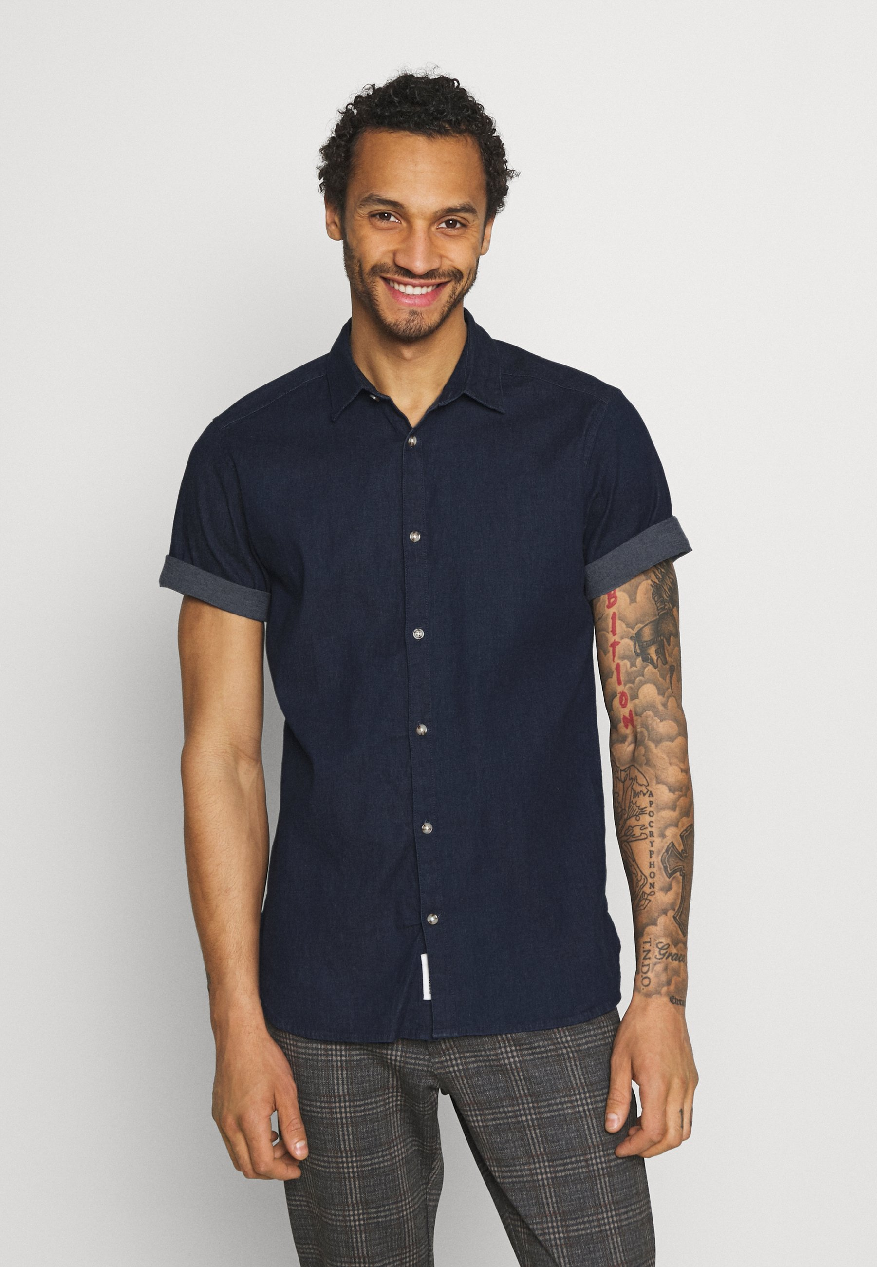 Uomo ONSTROY LIFE CHAMBRAY STRETCH  - Camicia