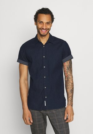 ONSTROY LIFE CHAMBRAY STRETCH  - Shirt - dark blue denim