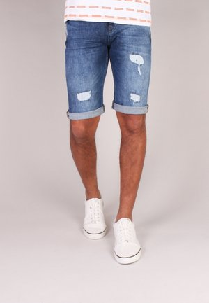 Shorts di jeans - blue destroyed