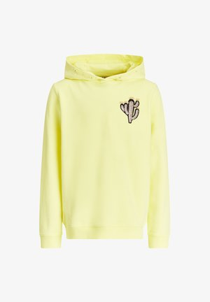 REGULAR FIT - Sweat à capuche - yellow