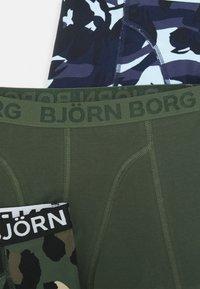 Björn Borg - CAMO FLORAL & SAMMY 5 PACK - Panties - peacoat - 3