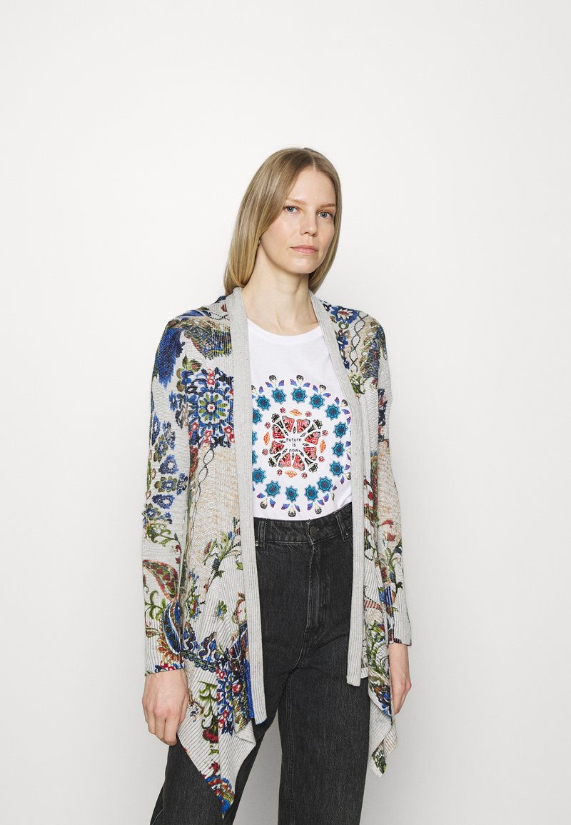 Desigual - Kardigan - light grey