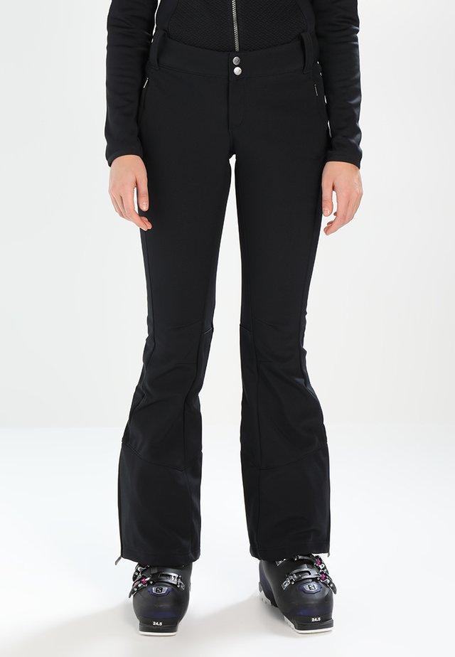 ROFFE RIDGE - Pantaloni da neve - black