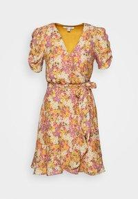 Forever New - TRINA WRAP MINI DRESS - Day dress - dark yellow - 5