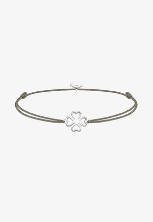 LITTLE SECRET KLEEBLATT - Armband - silver-coloured/grey