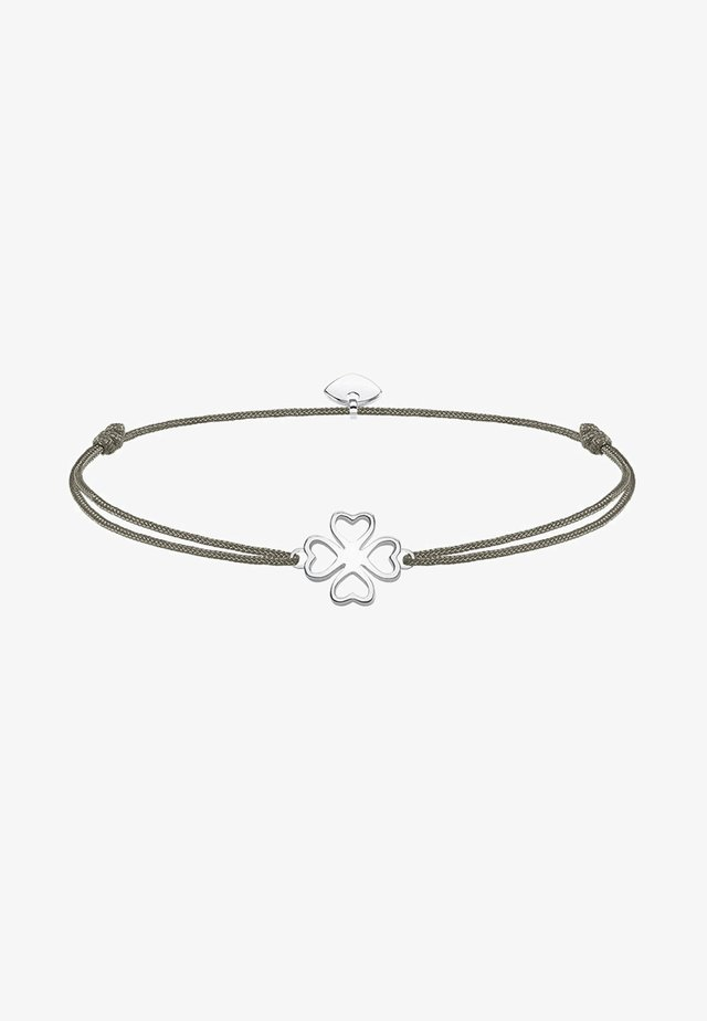 LITTLE SECRET KLEEBLATT - Bracelet - silver-coloured/grey