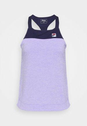 MELLY - Topper - purple melange