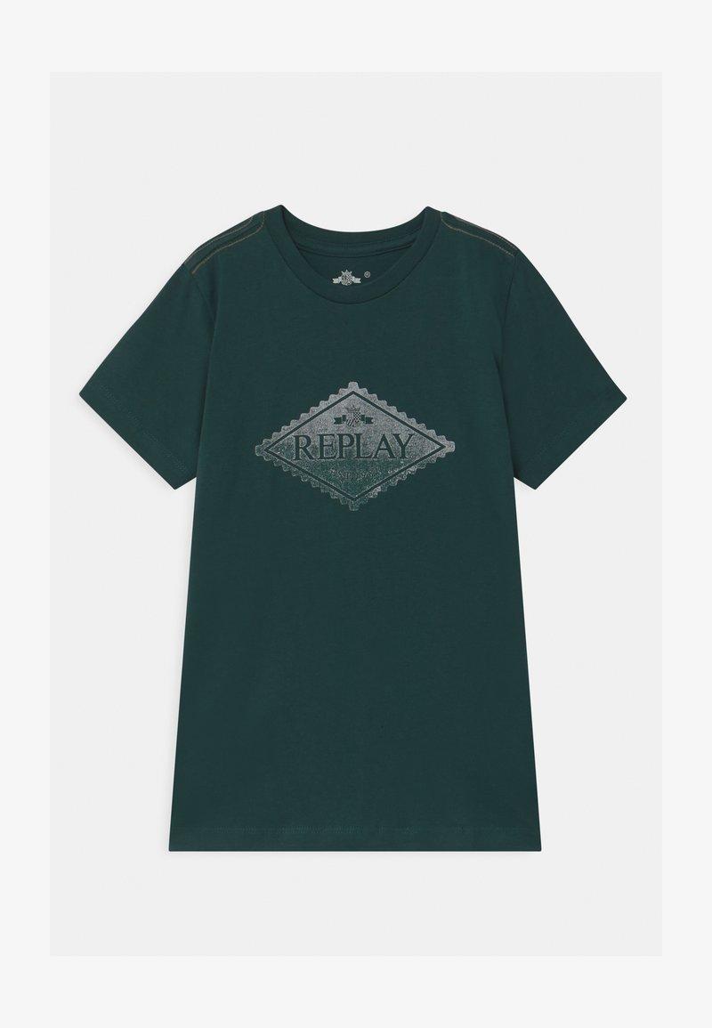 Replay - Print T-shirt - green
