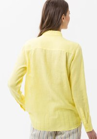 BRAX - VICTORIA - Button-down blouse - yellow - 2