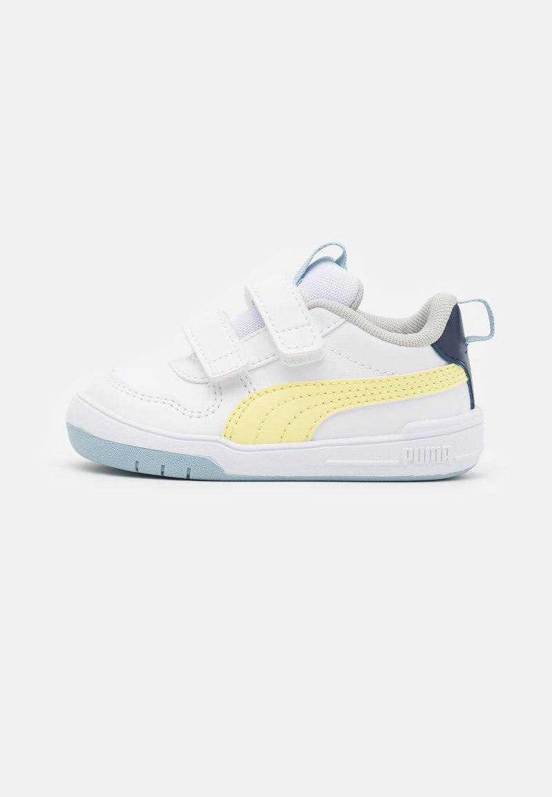 Puma - MULTIFLEX UNISEX - Sports shoes - white/yellow pear