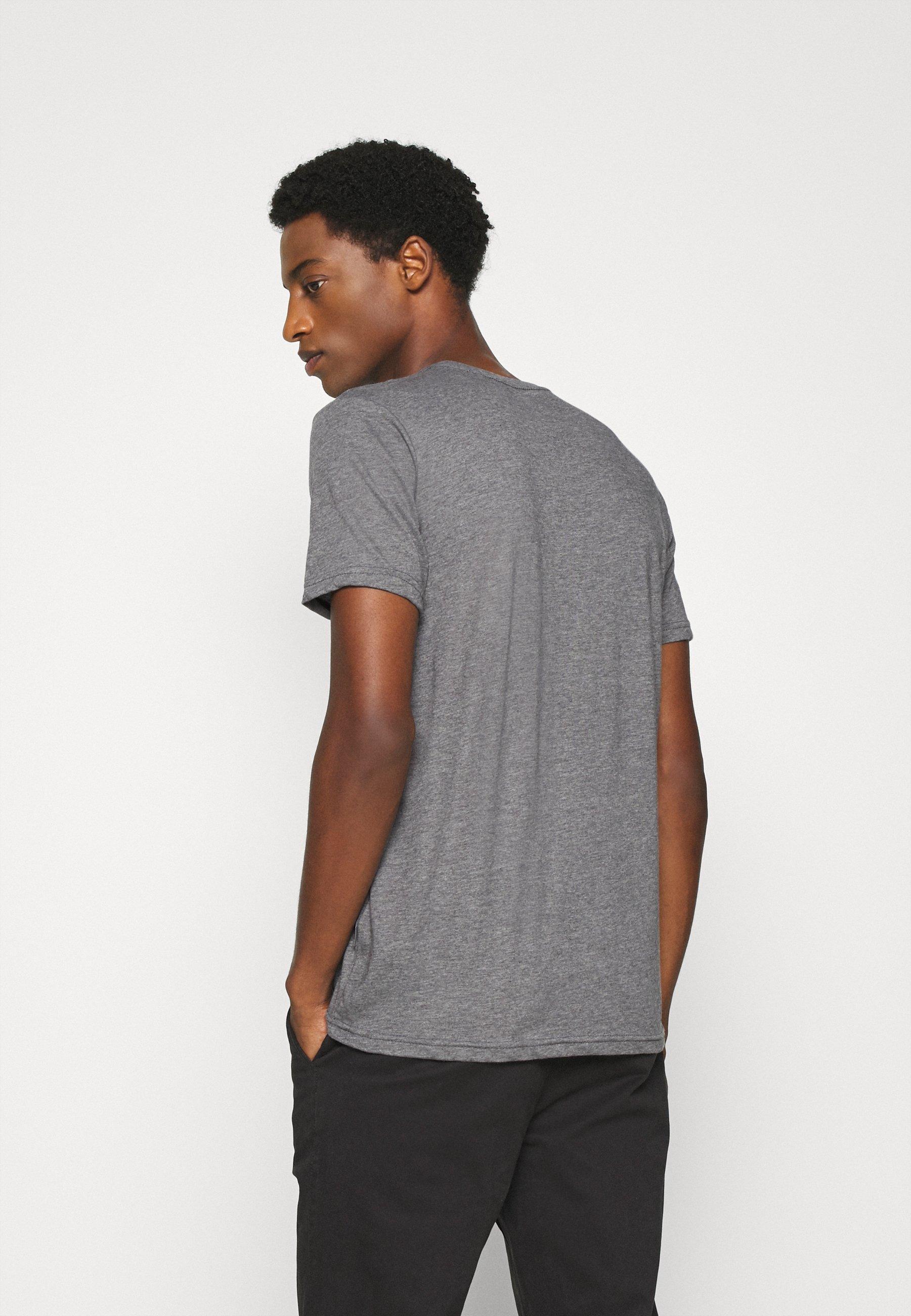 Solid Print T-shirt - grey melange r2i4X
