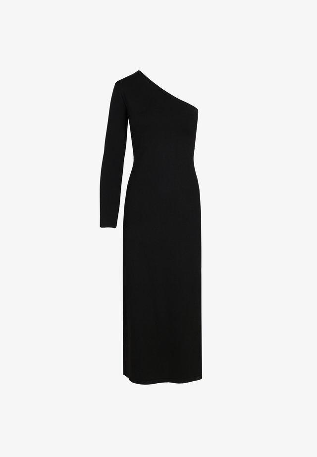 ASIMETRIC  - Korte jurk - black