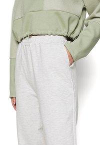 Even&Odd - Regular Fit Jogger - Tracksuit bottoms - beige melange - 4