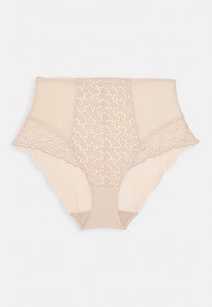 ANA HIGH WAIST BRIEF - Kalhotky - natural beige