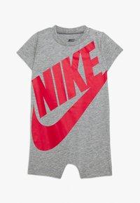 Nike Sportswear - FUTURA ROMPER BABY - Jumpsuit - dark grey heather - 0
