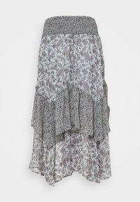 American Eagle - RUFFLE HANKY - Maxi skirt - multi - 1