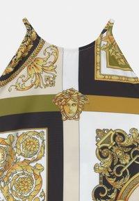 Versace - BEACHWEAR BAROCCO MOSAIC - Swimsuit - white/gold/kaki - 2