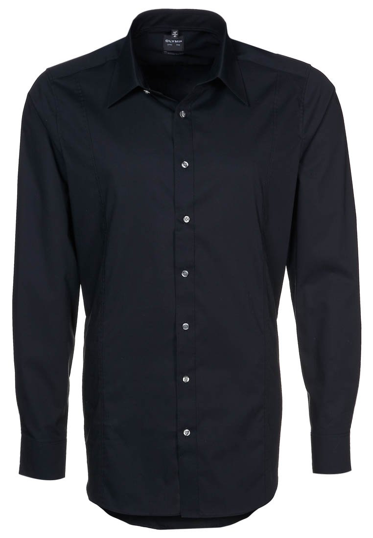 OLYMP Level Five - BODY FIT ITALIEN  - Formal shirt - black