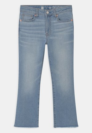 GIRL ANKLE  - Bootcut jeans - light-blue denim