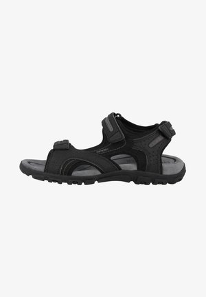 STRADA - Walking sandals - black