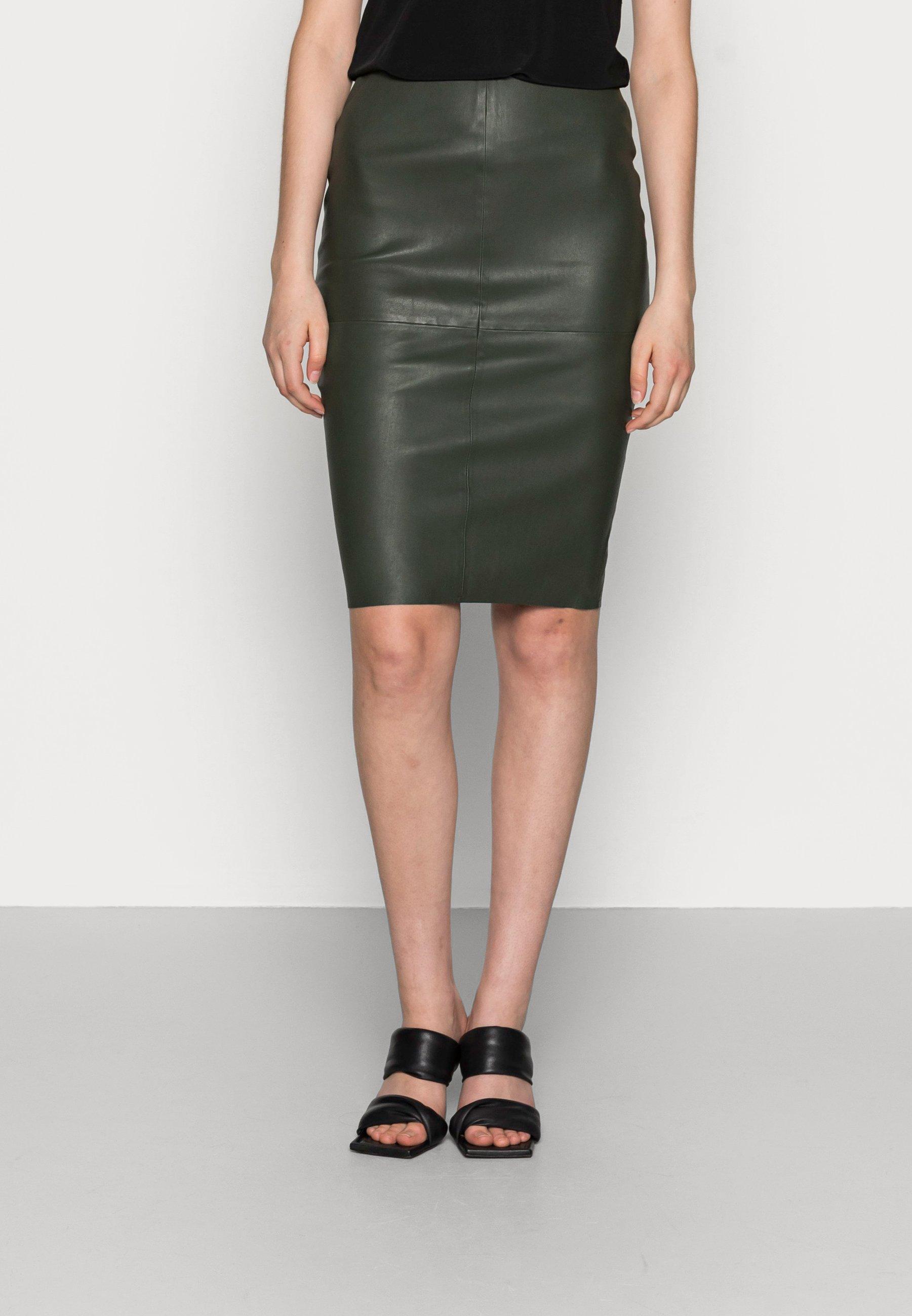 Women SADIE - Leather skirt