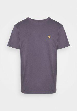 CHASE  - Basic T-shirt - provence/gold