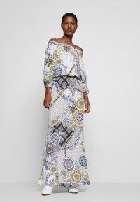 Desigual - Maxi šaty - azul dali - 0