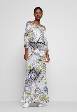 Maxi dress - azul dali