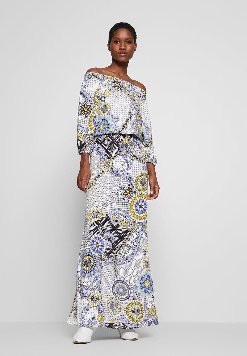 Desigual - Maxi šaty - azul dali