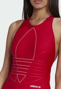 adidas Originals - Swimsuit - red - 4