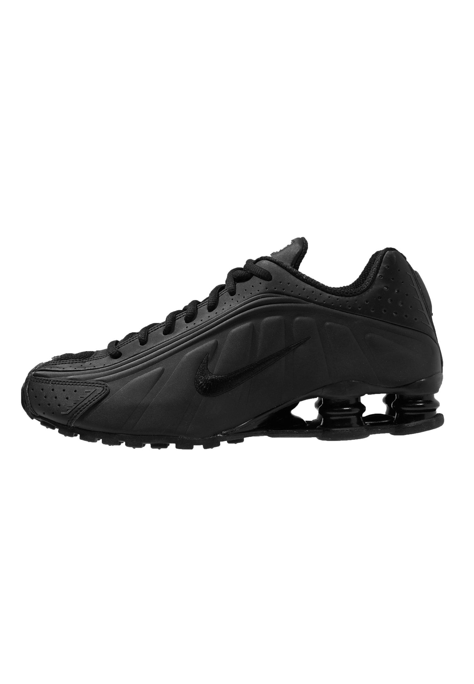 Nike Sportswear SHOX R4 - Baskets basses - black/white/noir ...