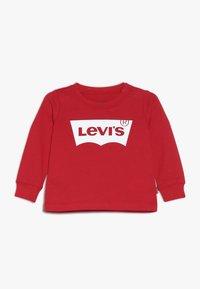 Levi's® - BATWING UNISEX - Långärmad tröja - super red - 0