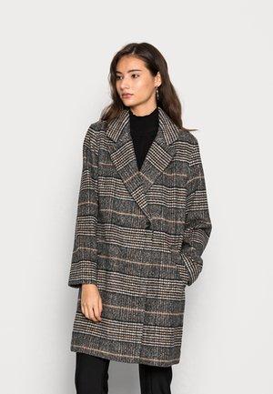 DAD COAT  - Classic coat - dark plaid