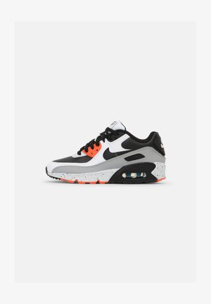 AIR MAX 90 LTR GS UNISEX - Trainers - white/black/turf orange/aquamarine