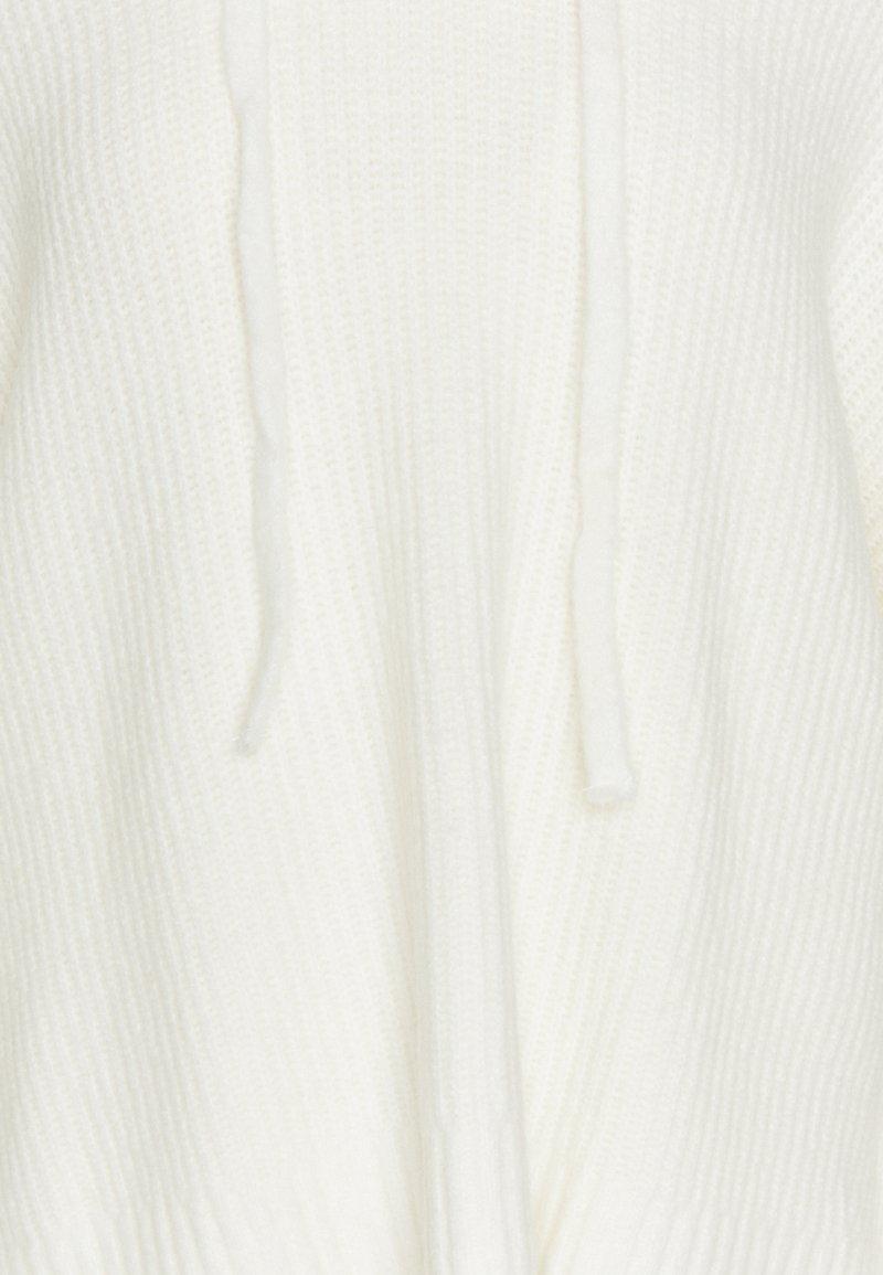 Missguided PREMIUM BOYFRIEND HOODIE - Strickpullover - white/weiß vjdOf6