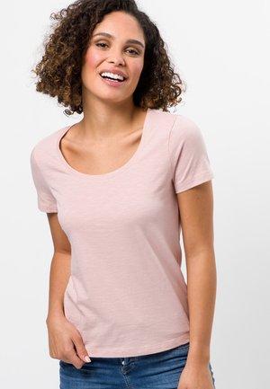 Basic T-shirt - peach sorbet