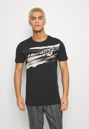 JORPOLA - Print T-shirt - black