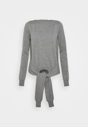 Jumper - melange grey
