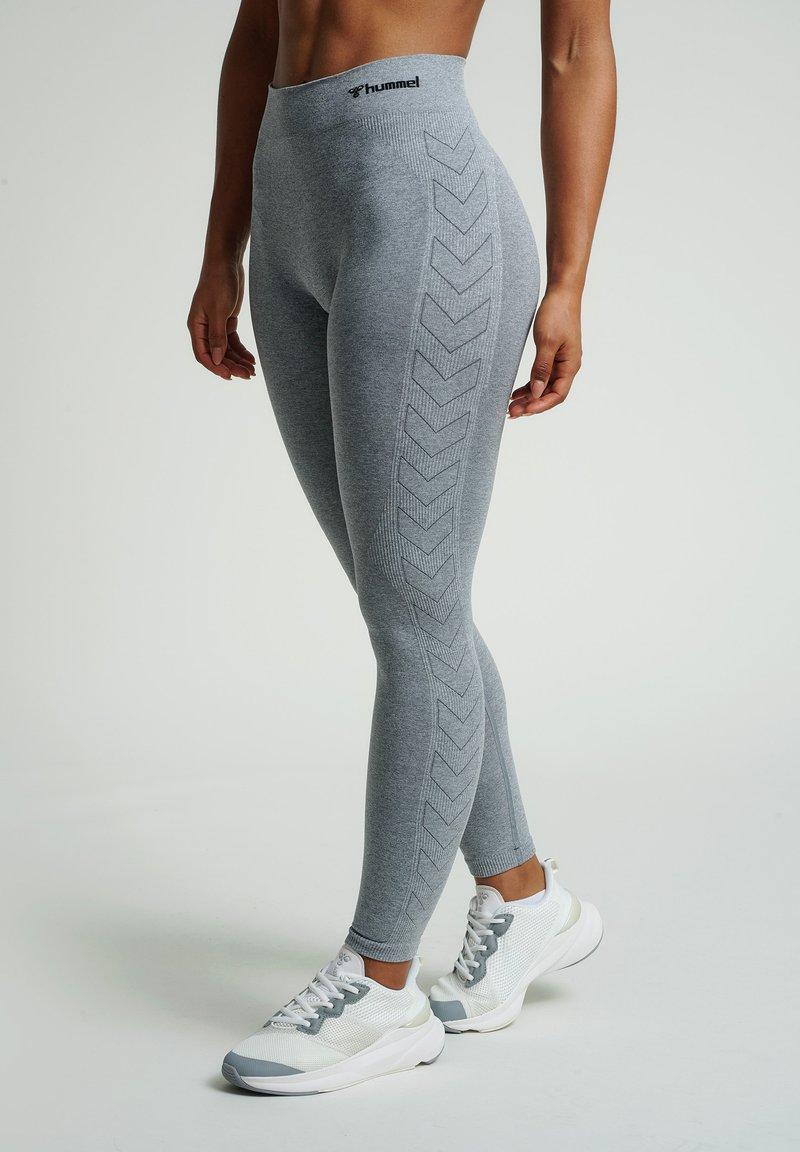 Hummel - HMLCI  - Leggings - grey melange