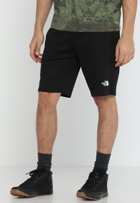 The North Face - MENS GRAPHIC SHORT  - Sports shorts - black - 0