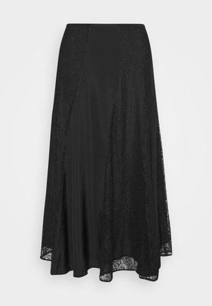 STELMA - A-line skirt - black