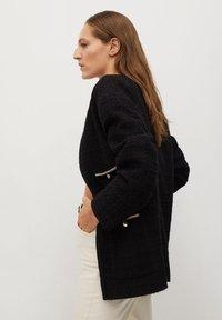 Mango - CANELA - Summer jacket - schwarz - 6