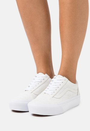 OLD SKOOL PLATFORM - Baskets basses - marshmallow