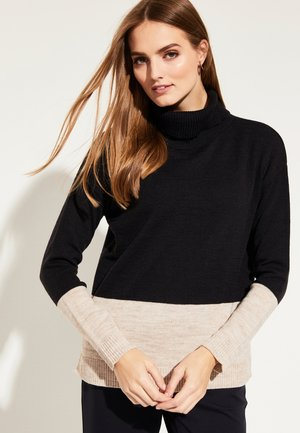 TWO TONE - Jumper - black