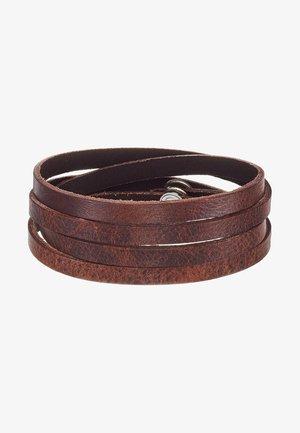 SPIRAL BRACELET - Bracelet - brown