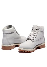 Timberland - Lace-up ankle boots - light grey nubuck - 2
