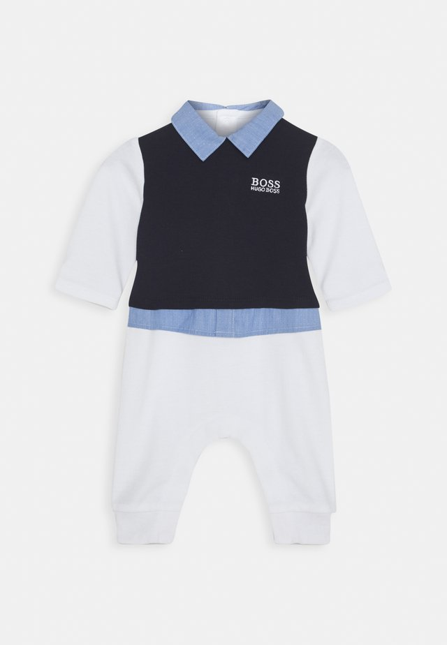 ALL IN ONE BABY - Overall / Jumpsuit /Buksedragter - navypale blue