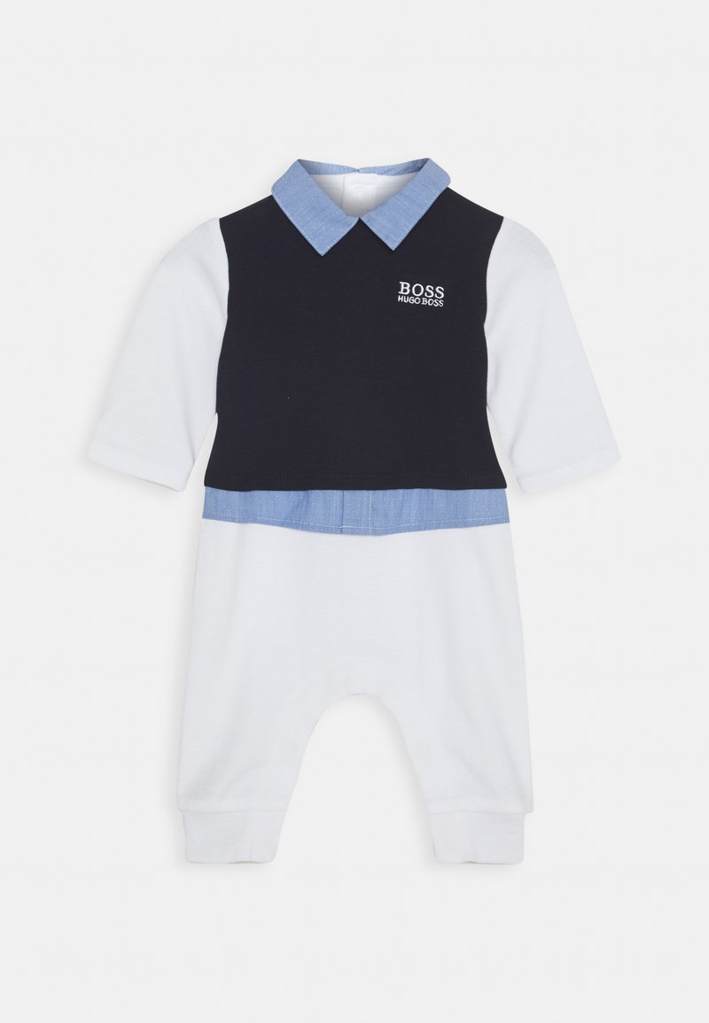 BOSS Kidswear - ALL IN ONE BABY - Jumpsuit - navypale blue