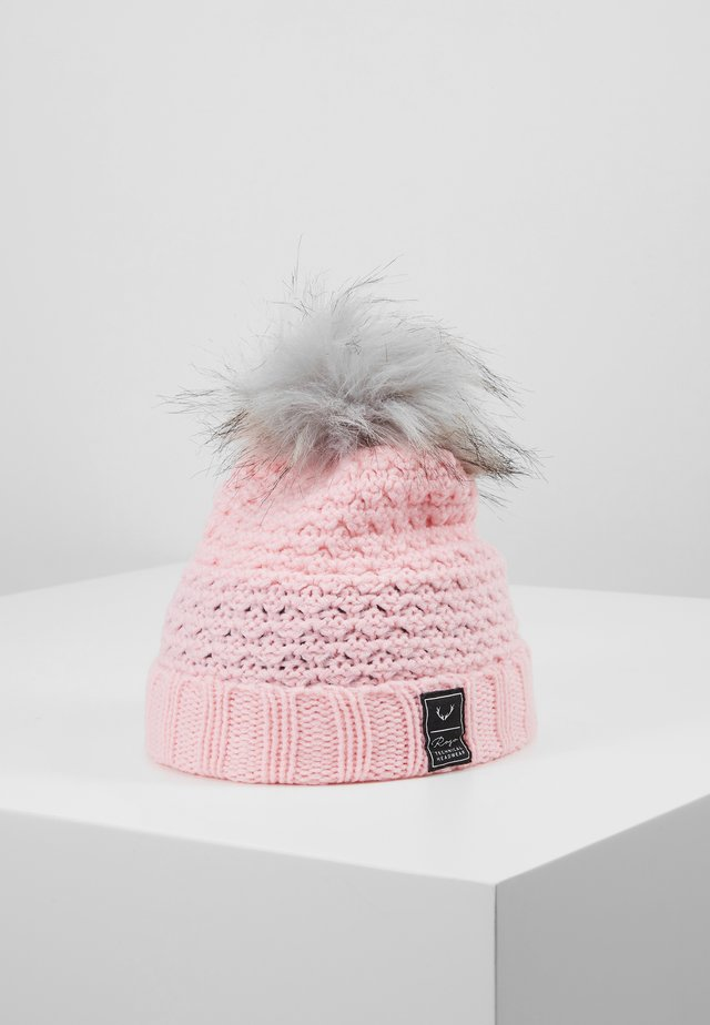 BOBBLE BEANIE - Beanie - pale pink